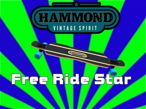 Unboxing Longboard | Hammond Free Ride Star