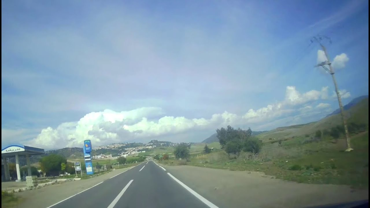 طريق تاونات المغرب بصوت الشيخ علي جابر