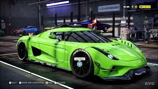 Need for Speed Heat - Koenigsegg Regera 2016 - Customize | Tuning Car (PC HD) [1080p60FPS]