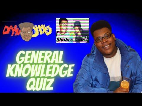 General Knowledge Quiz [DarnShakes TV 2020] Shakes vs Shacks
