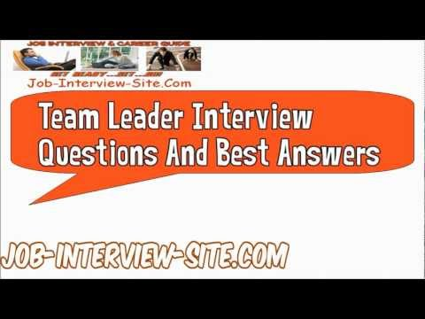 How would your rate yourself as a team player/leader or anything else? - interview questions for team leader