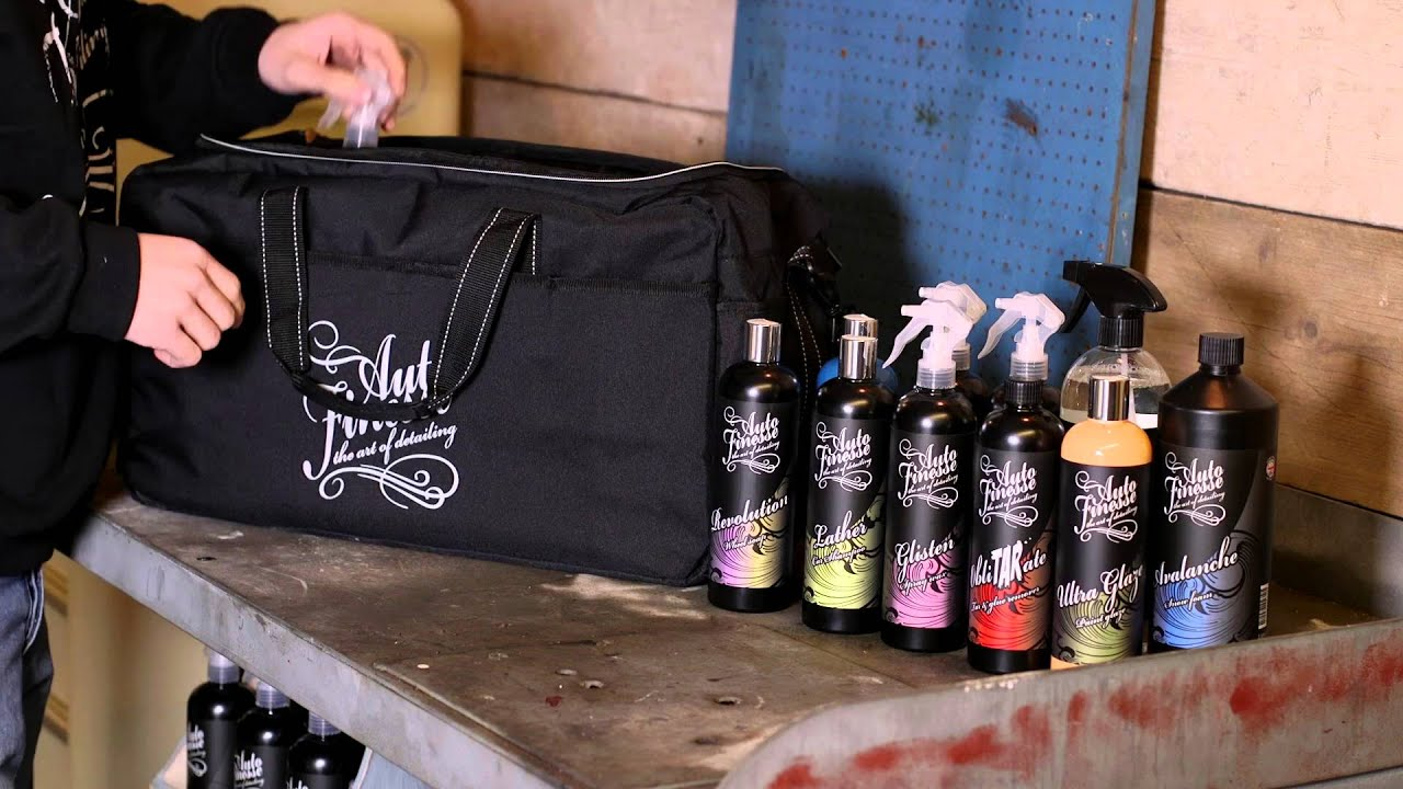 The Crew Bag From Auto Finesse