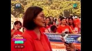 Panayam kay Emmeline Verzosa ukol sa  Walk to End Violence Against Women [11 25 14]
