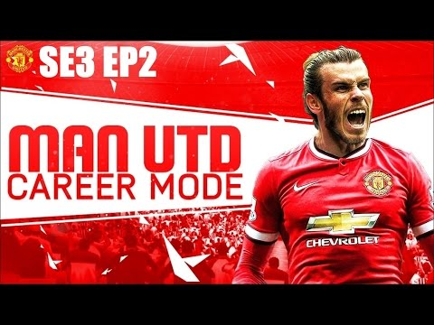 FIFA 16 Man United Career Mode: Gareth Bale to United?! SE3 EP2
