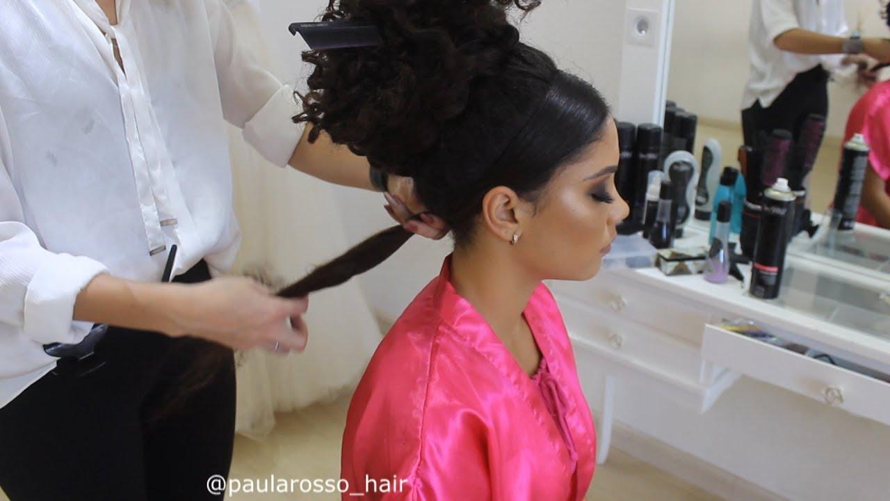 Penteado Para Debutante Cabelo Crespo