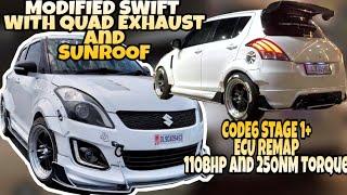 """CODE6 ECU REMAP/Loud Exhaust In Diesel Swift/Modified Swift/10""""Hypersonic Swift/Modified Cars"""