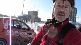 Winter Cycling Santa Claus Parade