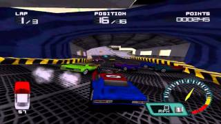 Demolition Racer Endurance League Gameplay - 01 USS Demolition Full HD 1080