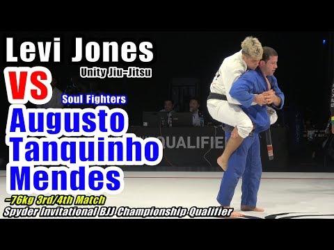 Augusto Tanquinho Mendes 🆚 Levi Jones-Leary / Spyder BJJ 2019
