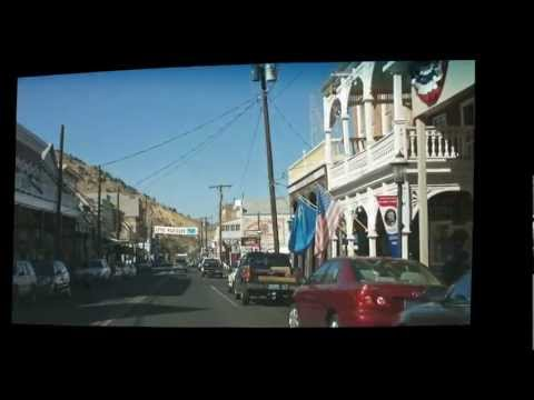 Virginia City Nevada Drive Through Tour !!!