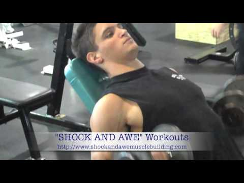 Shock And Awe Dumbbell Incline Curls