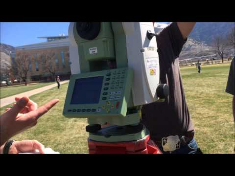 Collecting  Ground Control Data using Total Station