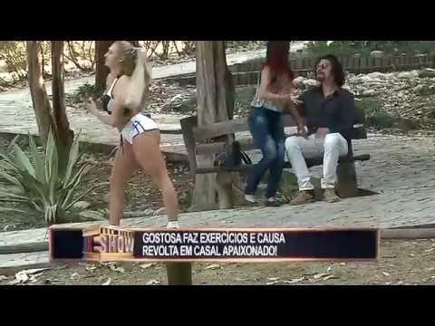 Loiraça Provoca Briga De Casais Durante Aquecimento No Parque