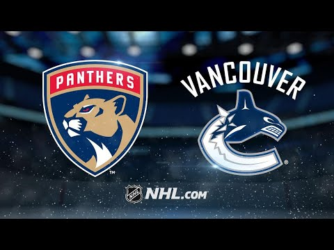Bjugstad, Reimer lead Panthers past Canucks, 4-3