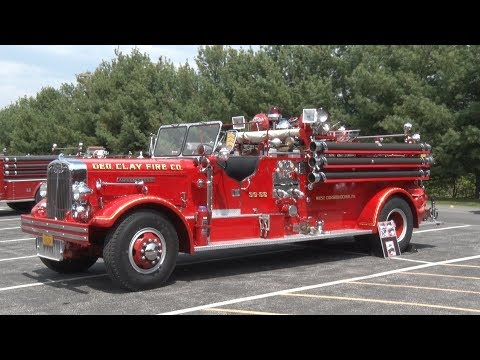 2018 Apple Blossom Festival Antique Fire Truck Show Winchester Va 5/4/18