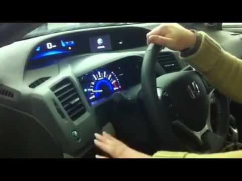 2012 Civic Econ on - YouTube