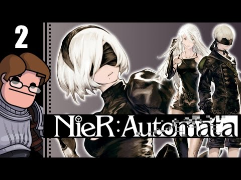 Let's Play NieR: Automata Part 2 - The Bunker