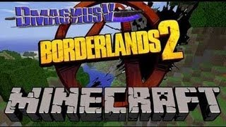 borderlands 2 minecraft fun