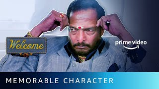 Uday Shetty - Memorable Characters of Indian Cinema | Welcome | Nana Patekar | Amazon Prime Video