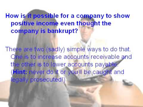 Financial services interview questions
