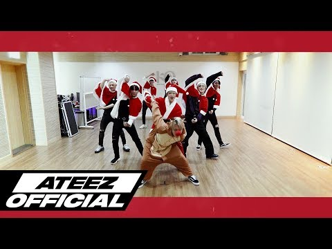 ATEEZ(에이티즈) - '해적왕(Pirate King)' Dance Practice (미리 크리스마스 Ver.)