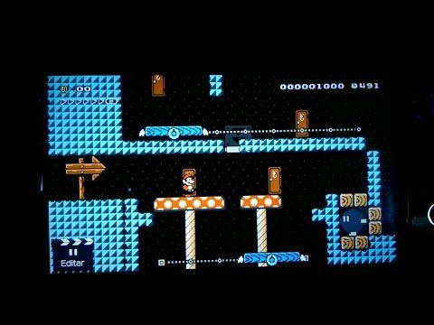 Super Mario Maker (Wii U) - Un vistazo a sus posibilidades