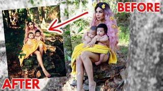 BRAMTY'S FIRST PHOTOSHOOT AS A MOM OF TWINS!!! *CRAZY TRANSFORMATION*
