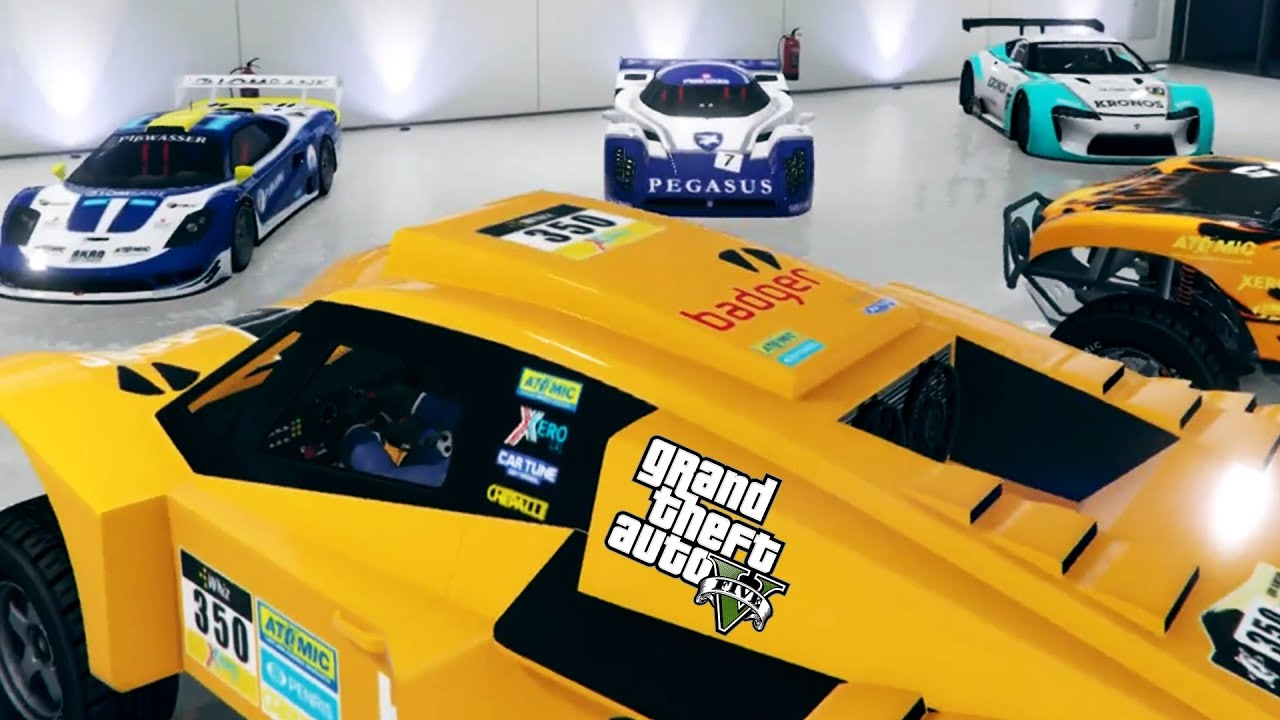 Gta V Buying All The Race Cars Cunning Stutns Live Stream