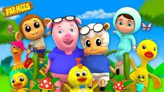 Nursery rhymes Cartoons for Kindergarten Kids | Baby Song Videos & Childrens rhymes by Farmees LIVE