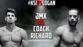 JMX VS. Coach Richard - FULL FIGHT #KSIvsLogan
