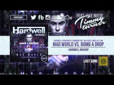 Hardwell vs. Garmiani feat. Jake Reese & Lil Jon - Mad World vs. Bomb A Drop Hardwell Mashup