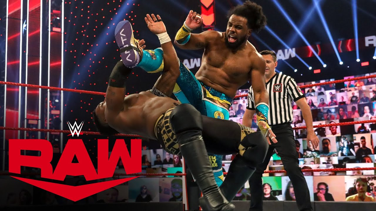 Xavier Woods vs. Cedric Alexander: Raw, Nov. 30, 2020