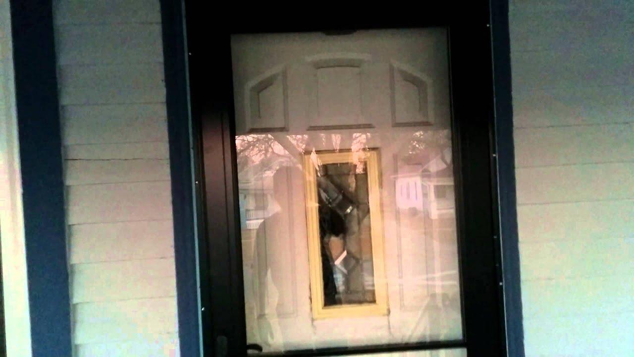 Andersen 3000 Storm Door Is Awesome Youtube