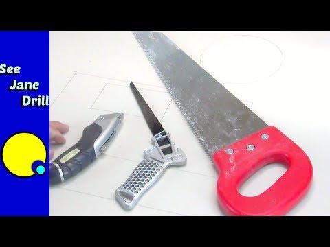 Best way to cut sheetrock