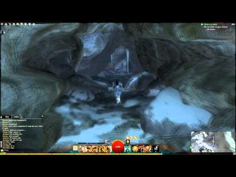 GW2 Dredgehaunt Cliffs - Black Earth Coalmine Vista