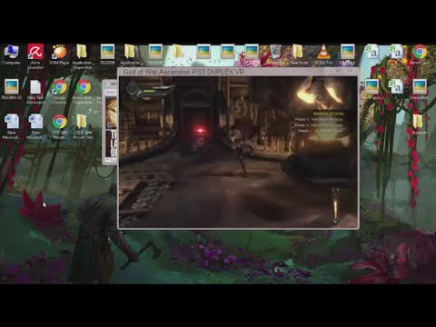 God of War Ascension Pc gameplay using RPCS3