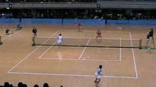 第46回東京インドア 全日本ソフトテニス大会 男子決勝2 佐々木洋介 検索動画 20