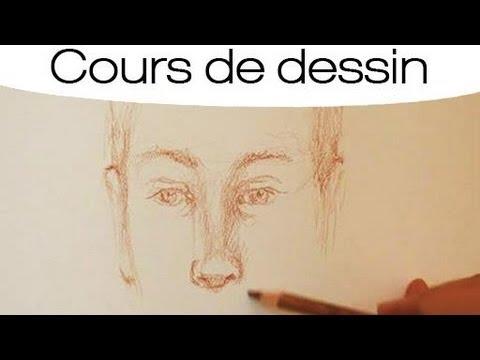 Fabuleux Cours de dessin : dessiner un portrait - YouTube WI06