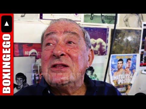 BOB ARUM CREDITS UFC MODEL NOT PREMIER BOXING CHAMPIONS (PBC) BRINGING BOXING BACK TO FREE TV