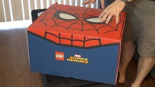 LEGO Spiderman: Homecoming Unboxing + Giveaway!