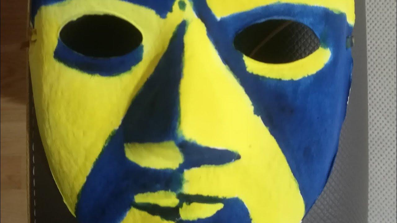 Karton Maske Boyama Ev ödevi Youtubedownloadpro