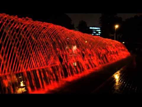 Lima, Peru Water Fountains