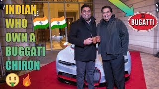 FIRST INDIAN TO OWN A BUGGATI CHIRON!!!