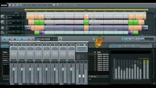 MAGIX Music Maker 2016 Live Software to create a new sound review 2017 BD