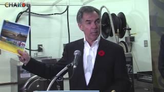 Premier Jim Prentice releases the Rural Economic Development Action Plan
