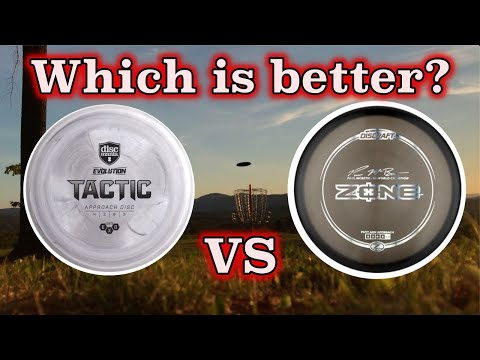 Discraft Zone vs Discmania  Tactic Challenge!