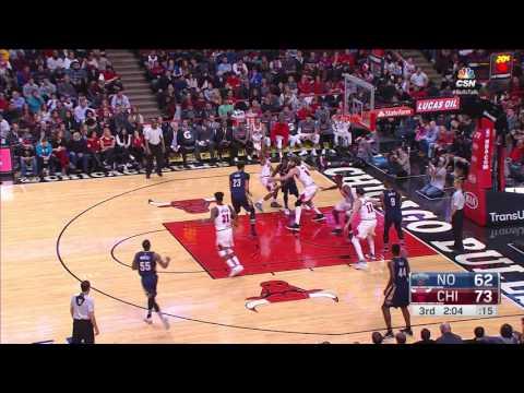 New Orleans Pelicans vs Chicago Bulls | January 14, 2017 | NBA 2016-17 Season