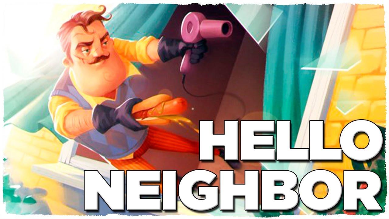 Mi Vecino Es Un Asesino Hello Neighbor Gameplay