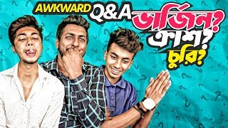 Awkward Question Game | Madology | Nax nish | Awkward Conversations | Q&A | Bangla Funny Video 2018
