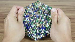 Brincando com 1000 bolinhas magnéticas !!
